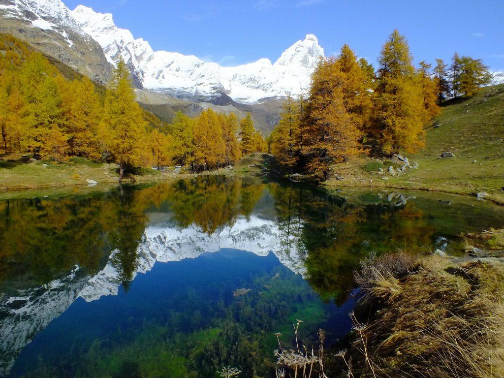 Lago Layet Lago Bleu